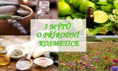 GoGreen 7 – 5 mýtů o přírodní kosmetice